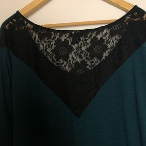 torrid Tops - Torrid Lace Back Top